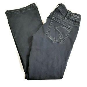Silver Suki Black Bootcut Jeans